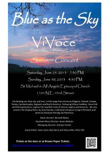 ViVoce Summer 2013 large flyer